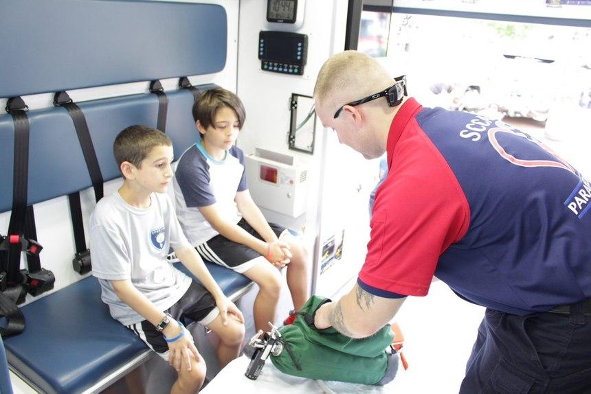 Photo courtesy/SCCAD Paramedic Drew Broeckelmann