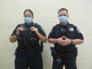 Different types of uniforms offer different advantages for tactical hand placement.