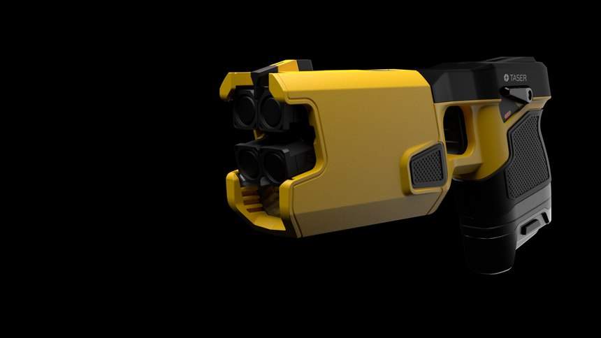 According to Axon, one major police force documented that 84% of 23,000 incidents required only the display of the TASER CEW to end the confrontation.