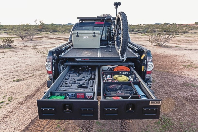 TruckVault's storage systems areversatile in order to fit any lifestyle. (Photo/TruckVault)