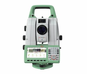 The Leica Nova MS60 MultiStation offers scanning speeds of 30,000 points per second and digital imaging with a 30x magnifying telescope camera as well as 1-second reflectorless shots to 2,000 feet. (Photo courtesy ofLeica Geosystems)