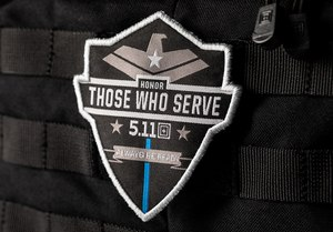 The 'Honor Those Who Serve' patch launch occurs during National Police Week 2020.