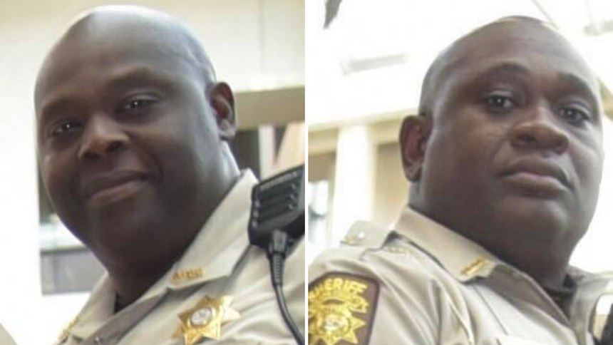 DeputiesKenny Ingram (left) and Anthony White were killed in the line of duty when their patrol car crashed in Columbia County, Georgia, on September 29, 2020. (Photo/Fulton County Sheriff's Office)