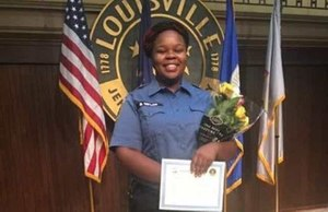 EMT and ER Technician Breonna Taylor, 26, who worked at Medical Center Jewish East and Norton Healthcare and previously worked for the city of Louisville as an EMT, was fatally shot by police during a drug raid at her home in March. The FBI and Kentucky Attorney General are investigating the case. (Photo/Courtesy of the New York Daily News)