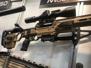 Modular rifles, like this CADEX Defence CDX-MC KRAKEN, boast numerous advantages over traditional, single-caliber sniper rifles. (Photo/Mike Wood)