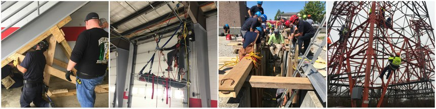Each of the six technical rescue disciplines has its own knowledge, skills and abilities that are specific to either Operations- or Technician-level training. (Photos/Dalan Zartman)
