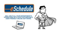 Scheduling & Timekeeping from eSchedule