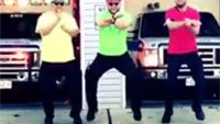 Ambulance station dance off