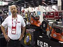Team Equipment Lightning II Turbo at FDIC 2014