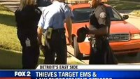 Detroit EMS crew lured to fake emergency, robbed