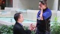 Watch surprise engagement of 2 Iowa paramedics