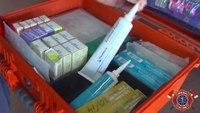 Ariz. medic shows off medication box