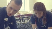 Medic students prep with real-world experience