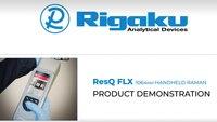 Rigaku ResQ FLX Narcotics Analyzer Demonstration