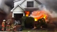 Reality Training: Post-explosion house fire