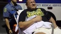 EMTs load hurt pro wrestler into ambulance