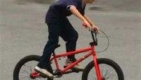 Boy's stolen bike replaced by firefighters' union