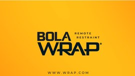 Bola Wrap remote restraint enables officers to safely & humanely take subjects into custody without injury