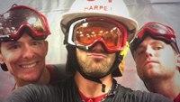 Nationals' Bryce Harper dons D.C. fire helmet during celebration