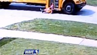 Child dragged at least 100 feet by bus