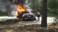 Army Captain pulls 3 people from fiery vehicle collision