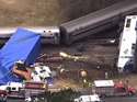 40 passengers hurt when train hits tractor-trailer