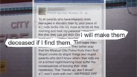 Probe: Firefighter's Facebook post threatened to harm teens