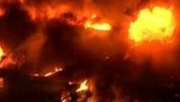 5-alarm fire rips through sheet metal plant