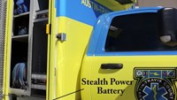 Austin ambulances equipped with green energy electrical systems