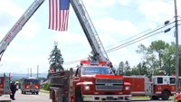 7-year-old gets funeral fit for firefighter