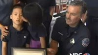 Firefighters honored for saving 4-year-old in cardiac arrest