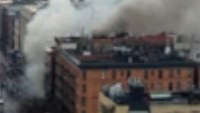 Explosion rocks NY building; several injured