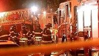 Conn. firefighter dies battling house fire