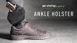 Remarkably Secure and Comfortable Carry with the ShapeShift™ Ankle Holster
