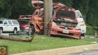 Woman killed in collision with Md. fire dept. vehicle