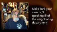 How do I get the neighboring fire chief to work with me?