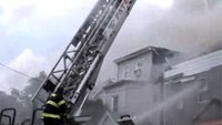 7 NJ firefighters hurt when fires rip through 8 homes