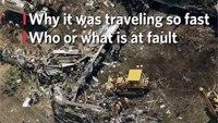 Investigators: Amtrak train was speeding 106 mph