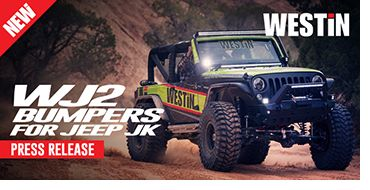 Westin's new line of WJ2 Front and Rear Bumpers for Jeep JK